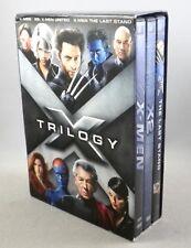 X-MEN TRILOGY - 3 DVD Set - X-Men - X2: X-Men United - X-Men The Last Stand