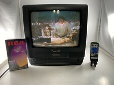 Panasonic Omnivision PV-C1320 TV/VCR Combo Gaming TV/FM TUNER with Remote/tape