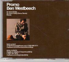 (EX186) Ben Westbeech, So Good Today - 2006 DJ CD