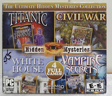 The Ultimate Hidden Mysteries Collection *4 Pack* PC CD Game 2011 HOG EUC