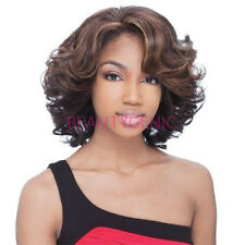 Freetress Equal Victoria Hair Lace Front Wig Short Wavy Front Synthetic Wigs