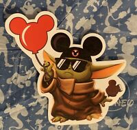 """Baby Yoda"" At Disney Parks Sticker"