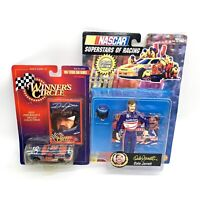 Lot of Dale Jarrett NASCAR Collectables Action Figure Winners Circle Diecast New