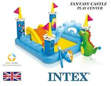 NUOVO INTEX FANTASY Castle Play Center Estate diapositiva ACQUA PARK Giardino Nuoto Top