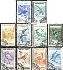 Roumanie 4642-4651 (édition complète) oblitéré 1991 Oiseaux