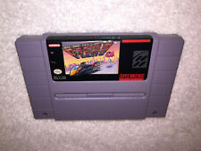 F-Zero (Super Nintendo Entertainment System, 1991) SNES Game Cartridge Excellent