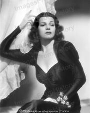 8x10 Print Rita Hayworth Beautiful Glamours Portrait #5502291