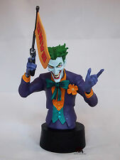 Figurine Buste JOKER Arkham City Batman Dark Knight DC Comics no Marvel Résine