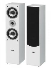 Speakers Pair 2-Wege Speaker Bass Reflex Floor Speakers AEG lb 4711 White
