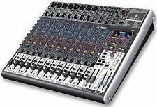 Behringer XENYX X2222 USB Mixer With Tracktion Recording Software