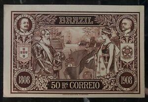 1908 Sao Pablo Brazil Stationary Postcard Cover Domestic Used