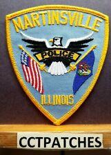 MARTINSVILLE, ILLINOIS POLICE SHOULDER PATCH IL