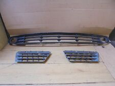 RENAULT GRAND SCENIC 2005 FRONT BUMPER GRILL AND BOTH TOP GRILLS
