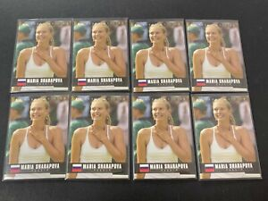 LOT (8) Maria Sharapova 2005 Ace Authentic Debut Edition #1 RC Rookie