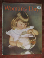 WOMAN'S DAY Magazine February 1950 Dorothy Thomas Viola August John J. Pullen