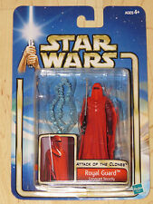 Star Wars Ep II AOTC #19 Royal Guard Coruscant Security Red Robe Force Pike NOSC