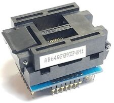 Emulation Technology AB64QF09ZP4M1 Test Socket Programmer w/ 64-QF09Z-P4 Chip