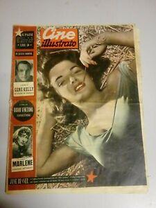 Giornale Cine Illustrato 28 Agosto 1949 n°49 Jane Russel Douglas Fairbanhs