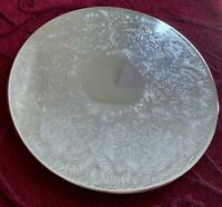 RODD - Dinner Plate Size PLACEMATS  - 20cms Round - Silver-Plated