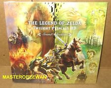 The Legend of Zelda Twilight Princess HD Soundtrack New Sealed Wii U