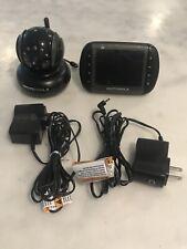 Motorola SCOUT1000 Digital Wireless Video - Pet/Infant 270 Deg Monitor (Black)