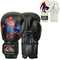 Spider-man Kids Boxing Gloves Junior Mitts 4oz, 6oz Punch Bag Children MMA Youth
