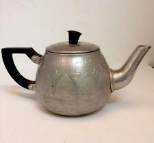 Queen Elizabeth Coronation 1953 Souvenir Aluminium Small Teapot
