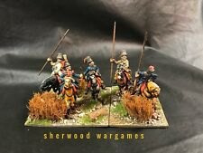 28mm Russian Cossacks #1, Napoleonic Wars, Beautifully Based And Propainted