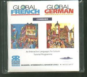 Global Learn Francés & Idioma Alemán Interactive Tutorial Curso Software