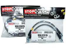 Stoptech Stainless Steel Braided Brake Lines (Front & Rear Set / 33015+33521)