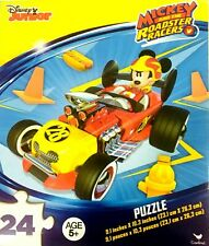 Disney Junior Mickey and the Roadster Racers Puzzle 24 Pieces New Factory Sealed