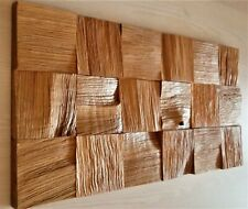 2XNEW NATURAL SOLID OAK WOOD Diffuser acoustic wall decoration panel home studio