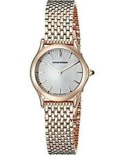 Emporio Armani Swiss Made Women's ARS7204 Rose Gold-tone watch, retail $995 NWT