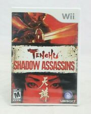 Tenchu Shadow Assassins Wii, 2005 Brand New Factory-Y sealed
