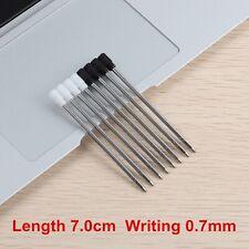 8 Pcs/Lot Ballpoint Pen Refill 70mm Small Cartridge Pen Rod Core For Crystal Pen