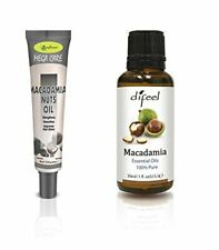 Difeel Hair & Essential Oil -Macadamia Oil 2PC Set