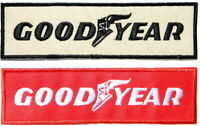 Patch Iron on GOODYEAR Tire Car Truck Bicycle Motorcycle Racing Biker T shirt