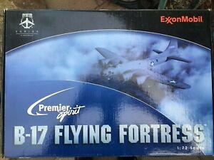 PREMIER SPIRIT EXXON MOBIL B-17 FLYING FORTRESS 1:72