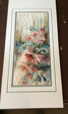 "Original Rice Paper Art, By Young, 9 X 20""."
