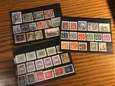Czechoslovakia Stamp Lot Worldwide Collection Ceskoslovensko Czech Republic