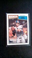 1987 Topps John Elway Denver Broncos #31 Football Card