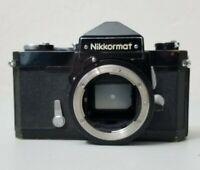 Nikon Nikkormat N FT Film SLR Camera Body *UNTESTED* Free Shipping!