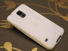 Samsung Galaxy S5 , S-Line  Schutzhülle Case Hülle weiß
