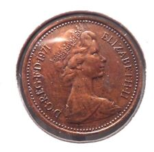 CIRCULATED 1971 1 NEW PENNY UK COIN!! (#41615)