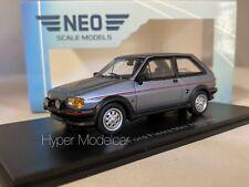 Neo Scale Models Ford Fiesta MKII Xr2 1984 Met.grey 1 43