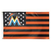 MIAMI MARLINS 3'X5' DELUXE FLAG BRAND NEW WINCRAFT
