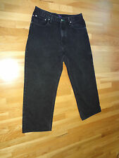 Men's Tommy Hilfiger Black Relaxed Fit Jeans in size 36/32