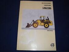 JOHN DEERE L45G L50G WHEEL LOADER OPERATION & MAINTENANCE MANUAL BOOK