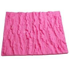 Silicone Tree Bark Texture Mold Cake Fondant Impression Mat Decorating Supplies