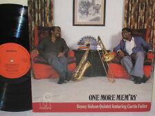 CURTIS FULLER & BENNY GOLSON - One More Mem'ry ~ TIMELESS 180 {nm} w/ROY McCURDY